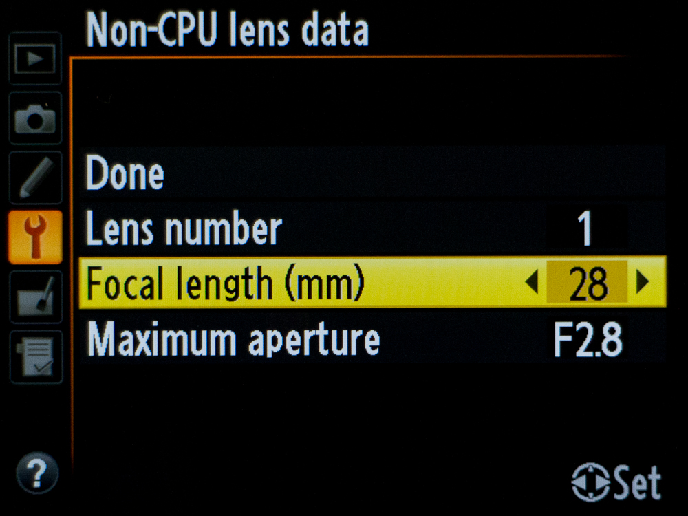 how to change aperture in manual mode nikon d7000