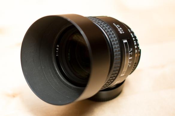 Nikon AF 85mm 1:1.8D